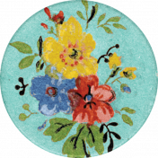 Taco Tuesday Flower Sticker