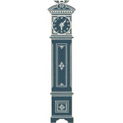 Blue Reflections Grandfather Clock