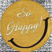 Positively Happy So Happy Sticker