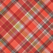 Positively Happy Plaid Paper 02