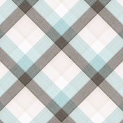 Positively Happy Plaid Paper 3