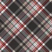 Positively Happy Plaid Paper 6