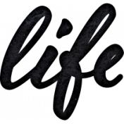 Project Endeavors Life Word Art