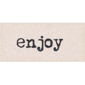 Project Endeavors Enjoy Word Art
