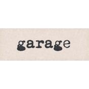 Project Endeavors Garage Word Art