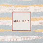 Project Endeavors Good Times Journal Card 4x4