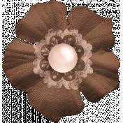 Nesting Brown Flower