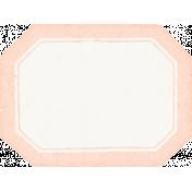 Nesting Vintage Label - Peach