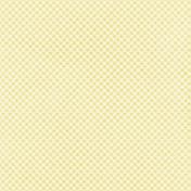 Nesting Yellow Gingham Paper
