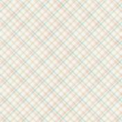 Nesting Stitched Plaid Paper