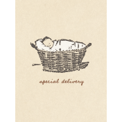 Nesting Delivery Journal Card 3x4