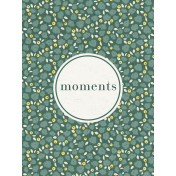 Nesting Moments Journal Card 3x4