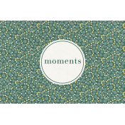 Nesting Moments Journal Card 4x6