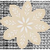 Around The World {In 80 Days} Cream Flower Element