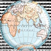 Around The World {In 80 Days} Globe Element