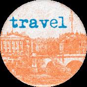 Around The World Travel Sticker