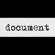 Vintage Memories: Genealogy Document Word Art Snippet