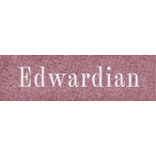 Vintage Memories: Genealogy Edwardian Word Art Snippet
