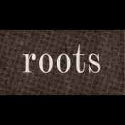 Vintage Memories: Genealogy Roots Word Art Snippet