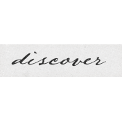 Vintage Memories: Genealogy Discover Word Art Snippet
