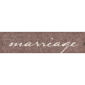 Vintage Memories: Genealogy Marriage Word Art Snippet