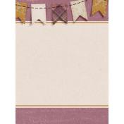 Vintage Memories: Genealogy Banner 3x4 Journal Card