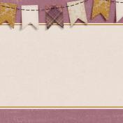 Vintage Memories: Genealogy Banner 4x4 Journal Card