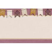 Vintage Memories: Genealogy Banner 4x6 Journal Card