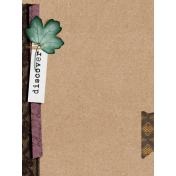 Vintage Memories: Genealogy Discover 3x4 Journal Card