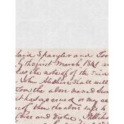 Vintage Memories: Genealogy Handwriting 3x4 Journal Card