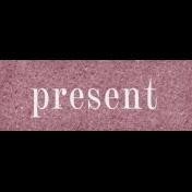 Vintage Memories: Genealogy Present Word Art Snippet