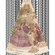 Vintage Memories: Genealogy Mini Kit Victorian Fan Element
