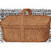 Retro Picnic Basket