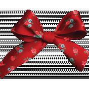 Retro Picnic Red Bow
