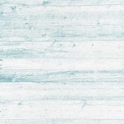 Retro Picnic Light Blue Wood Paper