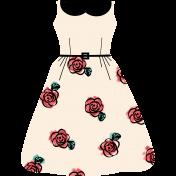 Lady's Dressy Occasion Templates Dress