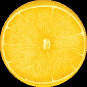 Peach Lemonade Lemon Sticker