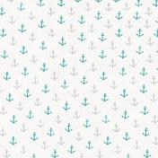 Nantucket Feeling {Sail Away} Anchors Paper