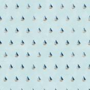 Nantucket Feeling {Sail Away} Sailboats Paper