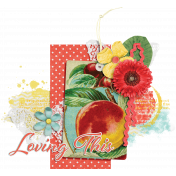 Peach Lemonade Cluster 04 No Shadow
