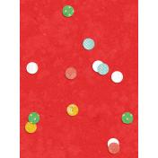 Peach Lemonade Confetti Journal Card 3x4