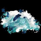 Nantucket Feeling {Sail Away} Wave Paint