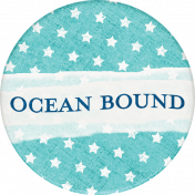 Nantucket Feeling {Sail Away} Ocean Bound Sticker