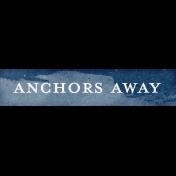 Nantucket Feeling {Sail Away} Anchors Away Word Snippet