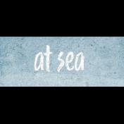 Nantucket Feeling {Sail Away} At Sea Word Snippet