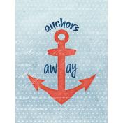 Nantucket Feeling {Sail Away} Anchor 3x4 Journal Card