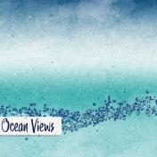 Nantucket Feeling {Sail Away} Ocean Views 4x4 Journal Card