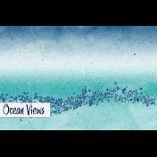 Nantucket Feeling {Sail Away} Ocean Views 4x6 Journal Card