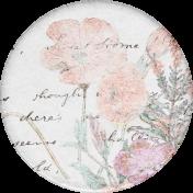 Cherish Flower Sticker