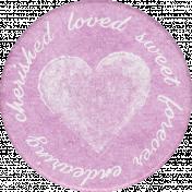 Cherish Words Sticker